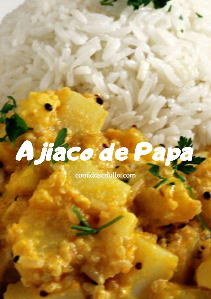 Ajiaco de papa
