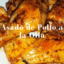 Asado de pollo a la olla