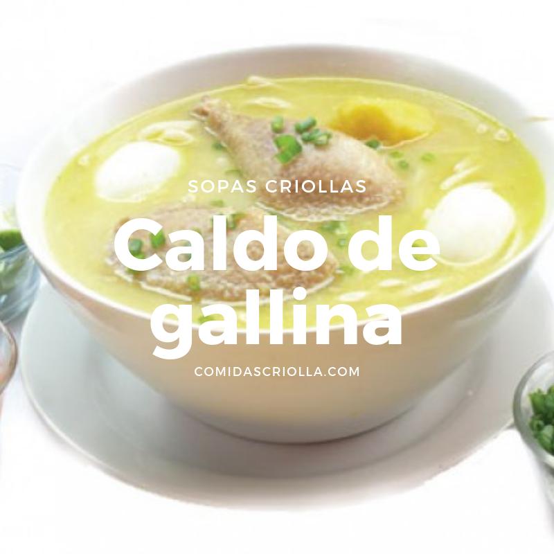 Caldo de Gallina