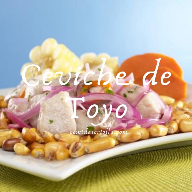 Ceviche de Toyo