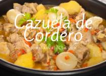 Cazuela de Cordero