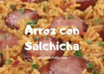 Arroz con Salchicha