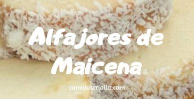 Alfajor de Maicena