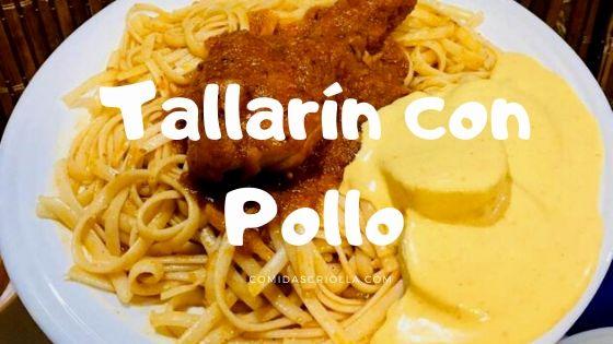 Tallarín con Pollo
