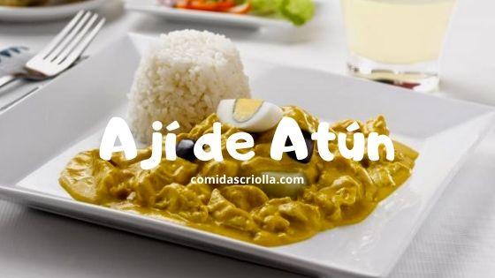 Ají de Atún