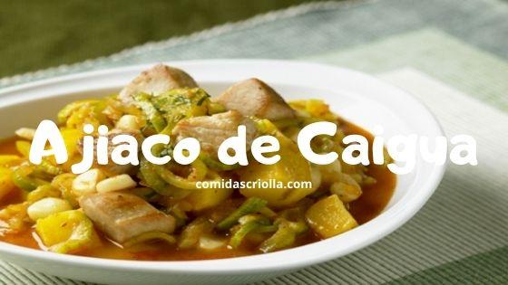 Ajiaco de Caigua