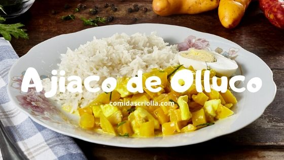 Ajiaco de Olluco