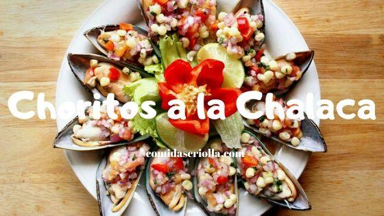 Choritos a la Chalaca
