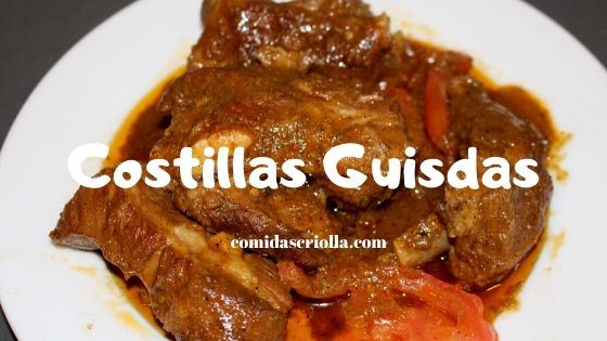 Costillas guisadas