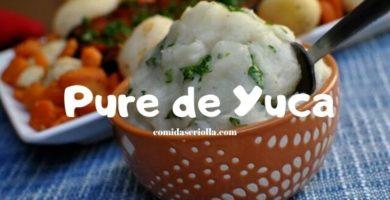 Pure de Yuca