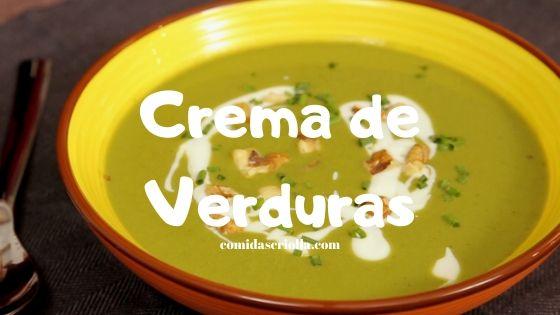 Crema de Verdura